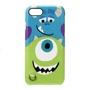iJacket 怪獸電力公司 iPhone7 4.7吋 迪士尼 口袋皮革系列 硬式保護殼 - 大眼仔  毛怪款