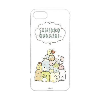 iJacket 角落生物 iPhone7 4.7吋 三麗鷗 透明塗鴉系列 硬式保護殼 - 集結款