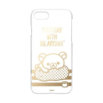 iJacket 拉拉熊 iPhone7 4.7吋 三麗鷗 透明塗鴉系列 硬式保護殼 - 金箔款