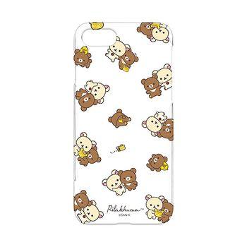 iJacket 拉拉熊 iPhone7 4.7吋 三麗鷗 透明塗鴉系列 硬式保護殼 - 恩愛款