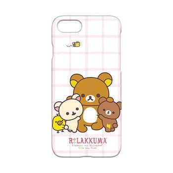 iJacket 拉拉熊 iPhone7 4.7吋 三麗鷗 透明塗鴉系列 硬式保護殼 - 團圓款