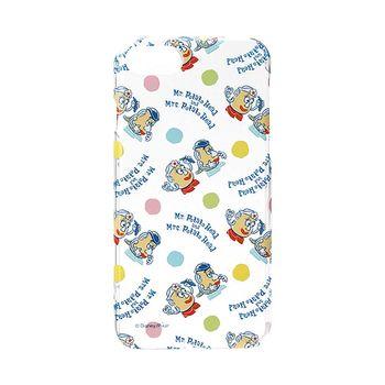 iJacket 迪士尼 iPhone7 4.7吋 彩繪亂花系列 透明硬式保護殼 - 蛋頭先生
