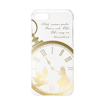 iJacket 迪士尼 iPhone7 4.7吋 金箔系列 透明硬式保護殼 - 愛麗絲夢遊仙境