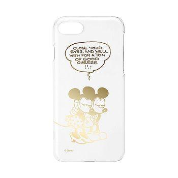 iJacket 迪士尼 iPhone7 4.7吋 金箔系列 透明硬式保護殼 - 米奇米妮