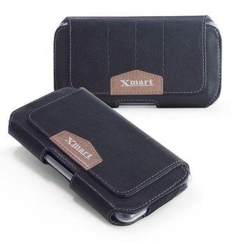 XM SONY Xperia XZ 流行潮流腰掛隱形磁扣皮套