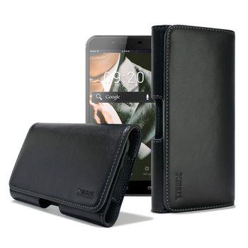 XM ASUS ZenFone 3 Max (ZC553KL) / Deluxe (ZS550KL) 5.5吋 型男羊皮橫式腰掛皮套