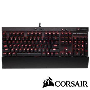CORSAIR K70 LUX機械電競鍵盤-紅軸英文紅光