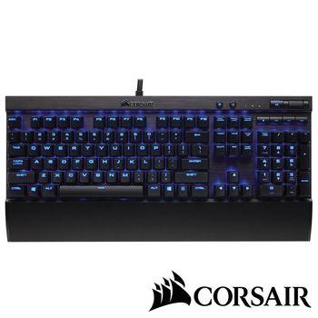 CORSAIR K70 LUX機械電競鍵盤-紅軸英文藍光