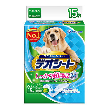 【日本Unicharm消臭大師】超吸收狗尿墊4L15片