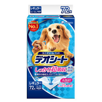 【日本Unicharm消臭大師】超吸收狗尿墊M72片