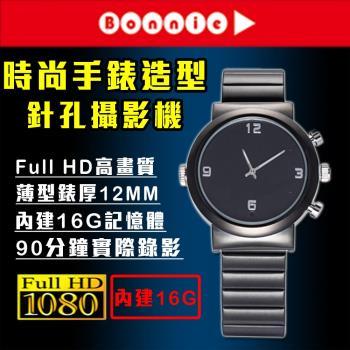 Bonnie  K568 Full HD 高電力薄型錶 針孔攝影機