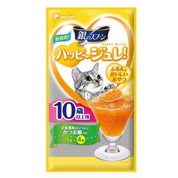 銀湯匙 快樂肉凍 柴魚風味(10歲以上)(4條×10包)