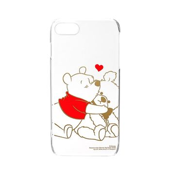 iJacket 迪士尼 iPhone7 4.7吋 金箔 透明硬式保護殼 - 小熊維尼 限定款