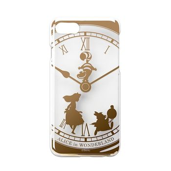 iJacket 迪士尼 iPhone7 4.7吋 金箔 透明硬式保護殼 - 愛麗絲夢遊仙境 限定款