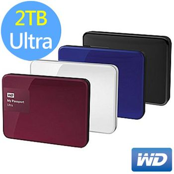 WD My Passport Ultra 2.5吋 2TB 行動硬碟