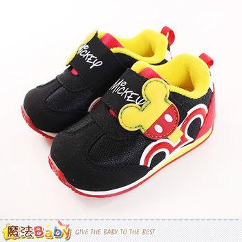 魔法Baby 兒童運動鞋 迪士尼米奇正版專櫃款男童運動鞋~sh9983