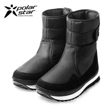 PolarStar 男 保暖雪鞋│雪靴│冰爪『爵士黑』 P16627