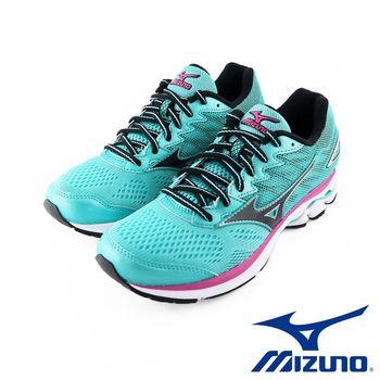 【Mizuno 美津濃】 2017 WAVE RIDER 20 女慢跑鞋 運動鞋 J1GD170310