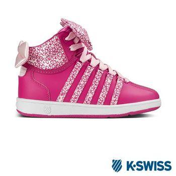 K-Swiss Classic VN Mid經典休閒鞋-大童-桃紅