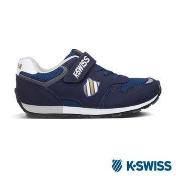 K-Swiss KS CHK 118復刻休閒鞋-童-海軍藍