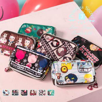 【PrincessSecret】韓系短版三層零錢手拿包【P-B2070710510】
