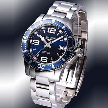LONGINES 浪琴 深海征服者300米機械潛水錶-39mm L36414966