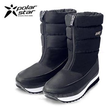 PolarStar 女 保暖雪鞋│雪靴│冰爪『霧黑』 P16628
