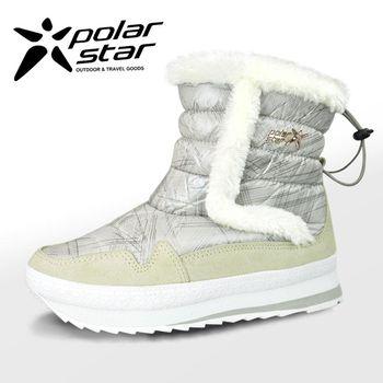 PolarStar 女 保暖雪鞋│雪靴│冰爪『尊爵白』 P15616