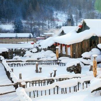 【東北-無購物無自費】雪鄉鏡泊湖冬捕霧淞島冰雪大世界八日