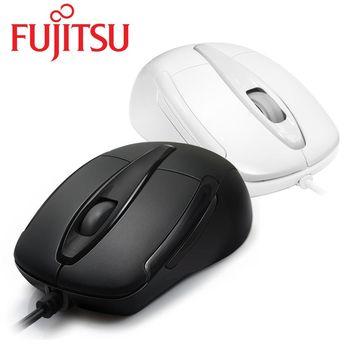 FUJITSU富士通 USB有線光學滑鼠 WH105