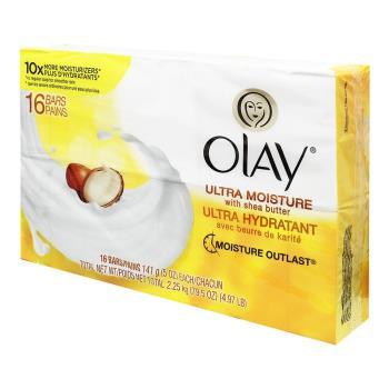 【美國進口OLAY】極緻保濕香皂 5oz X16入 (平均一顆50元 )