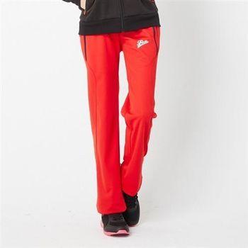 【TOP GIRL】修身休閒運動褲(紅色)