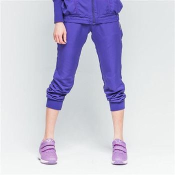 【TOP GIRL】防風束口八分褲(紫色)