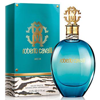 【即期品】Roberto Cavalli Acqua 水戀女性淡香水(75ml)