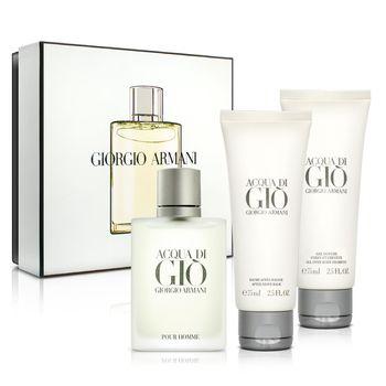 【即期品】GIORGIO ARMANI 寄情水男性淡香水禮盒