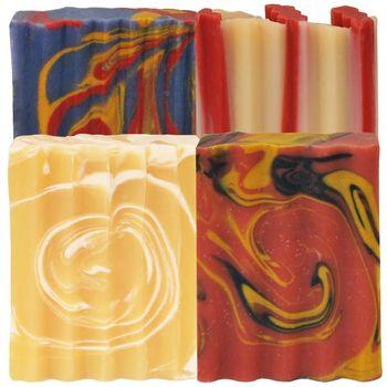 Indigo Wild-Zum Bar天然精油冷製手工羊奶皂(熟齡呵護組)4種
