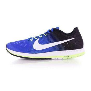 【NIKE】ZOOM STREAK 6 男女路跑鞋-慢跑 訓練 寶藍黑