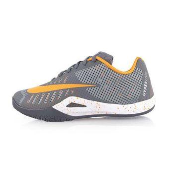 【NIKE】HYPERLIVE EP 男籃球鞋-運動 籃球鞋 灰橘
