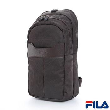 FILA雅仕質感單肩包(平板可入)(咖啡)BPP-5305-BN