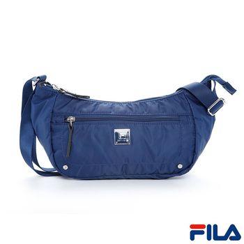 FILA心之旅隨身側斜背包(復古藍)BSP-5401-BU