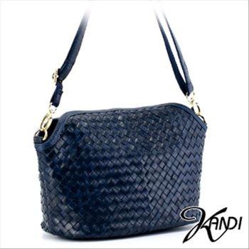 【KANDI】典藏優雅編織油蠟牛皮包(共4色)