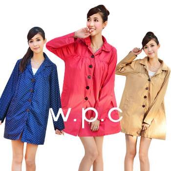 【w.p.c.】baby style。時尚雨衣/風衣(R1002)