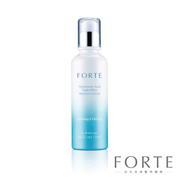 【FORTE】玻尿酸三重水潤霜後乳(120ML)