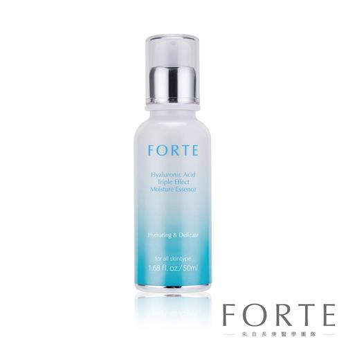 【FORTE】玻尿酸三重水潤精華(50ML)