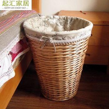 [協貿國際]  家居籐編髒衣籃收納桶大號髒衣簍