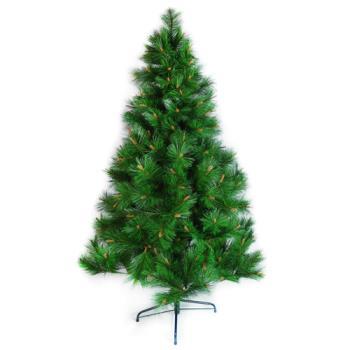 台灣製15尺/15呎(450cm)特級綠色松針葉聖誕樹裸樹 (不含飾品)(不含燈)