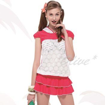 【沙兒斯品牌】流行前衛罩衫時尚四件式鋼圈比基尼泳裝 NO.B94602 (現貨+預購)