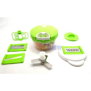 【易麗特】多功能二合一蔬菜處理器-贈水果刀×1支