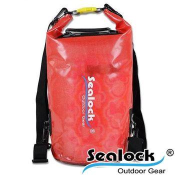 sealock-經典防水系列-IPX7果凍PVC防水背20L雙肩-紅色