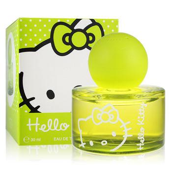【即期品】Hello Kitty 繽紛女孩淡香水-青蘋綠(30ml)